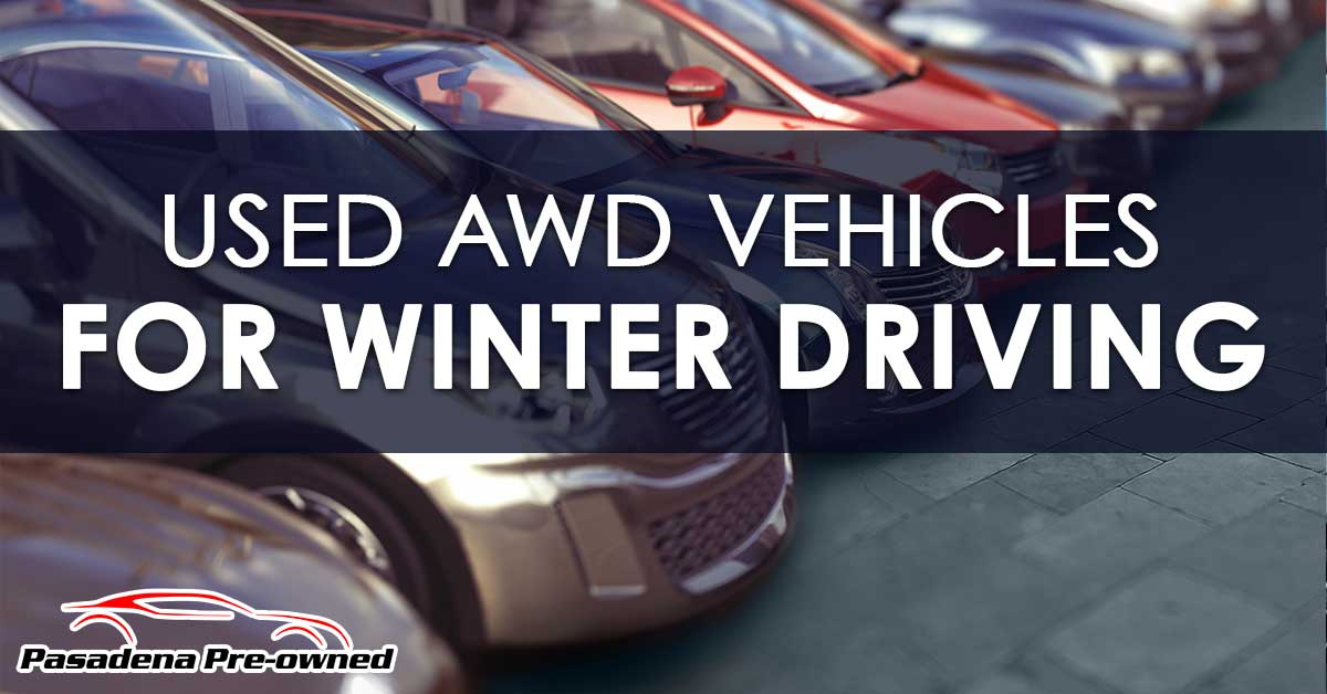 Used AWD Vehicles