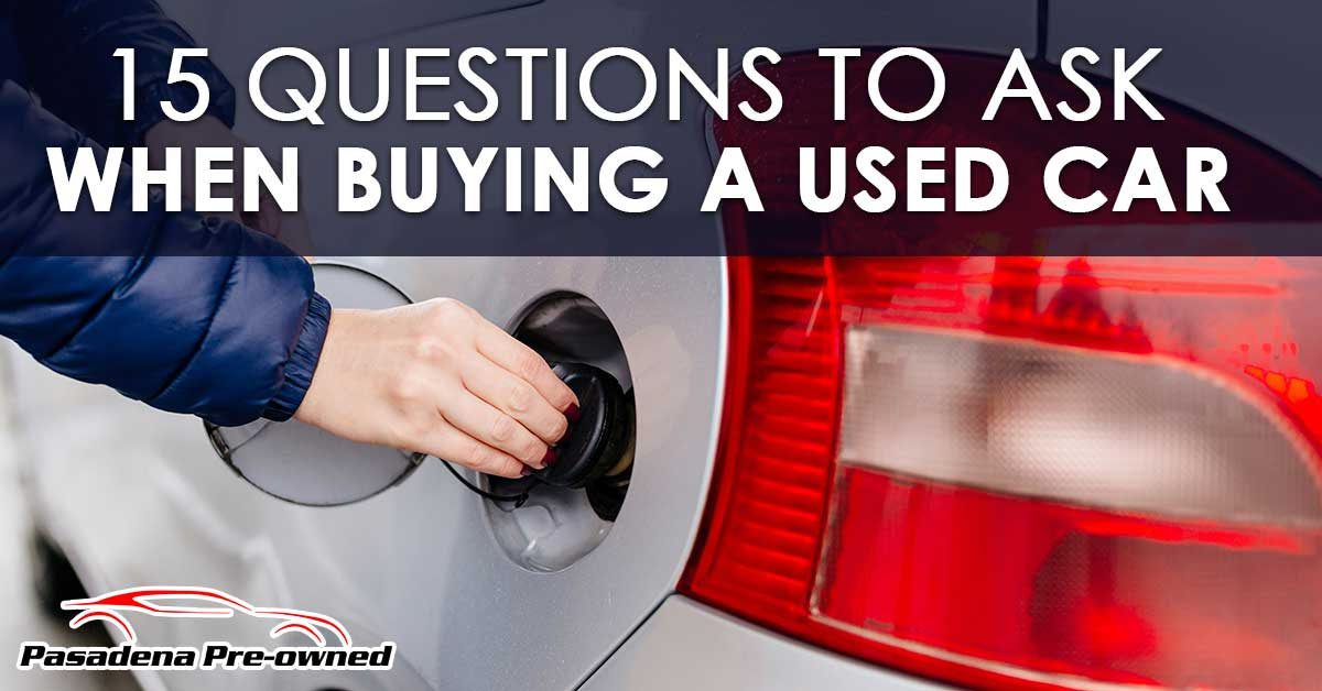 Questions To Ask When Buying Your First Used Car