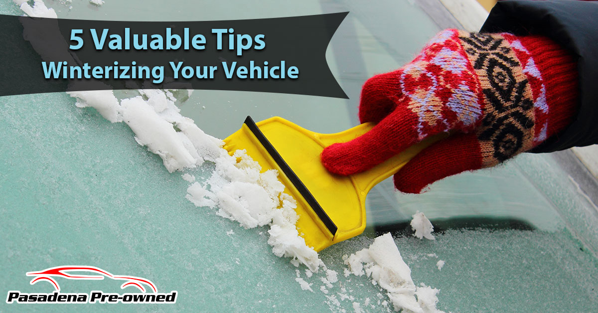 5 Valuable Tips for Winterizing Your Vehicle
