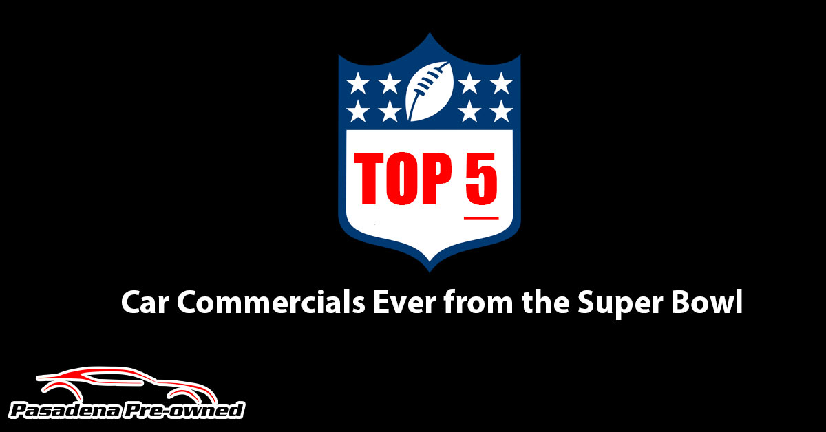 Top 5 Car Commercials Ever from the Super Bowl