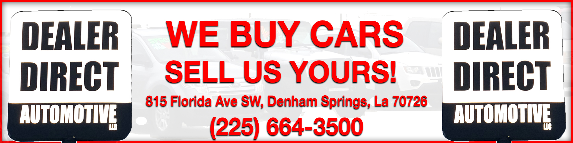 Sell Us Your Car | We Buy Cars