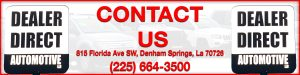 Contact Dealer Direct Automotive in Denham Springs