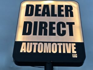Dealer Direct Automotive Sign
