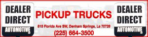 Pickup Trucks for Sale near Baton Rouge at Dealer Direct Automotive