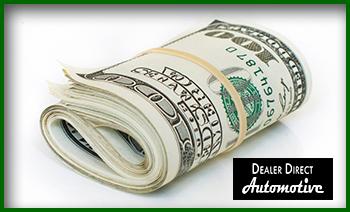 Money Down Payment Dealer Direct Automotive