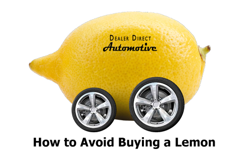 5 Tips: How to Avoid Buying a Lemon