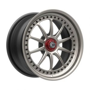SS10F forged wheel side view