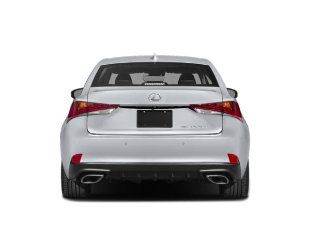 2019 Lexus IS 300 F Sport RWD - Rear View