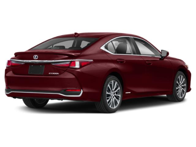 2019 Lexus ES 300h Luxury FWD - Angular Rear View