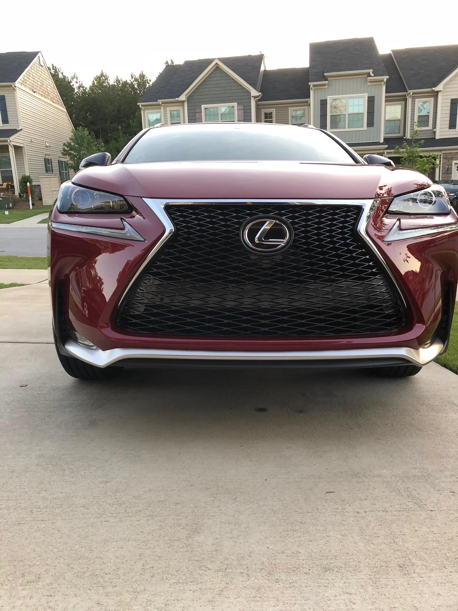 2017 Lexus NX200t F-Sport - Front View
