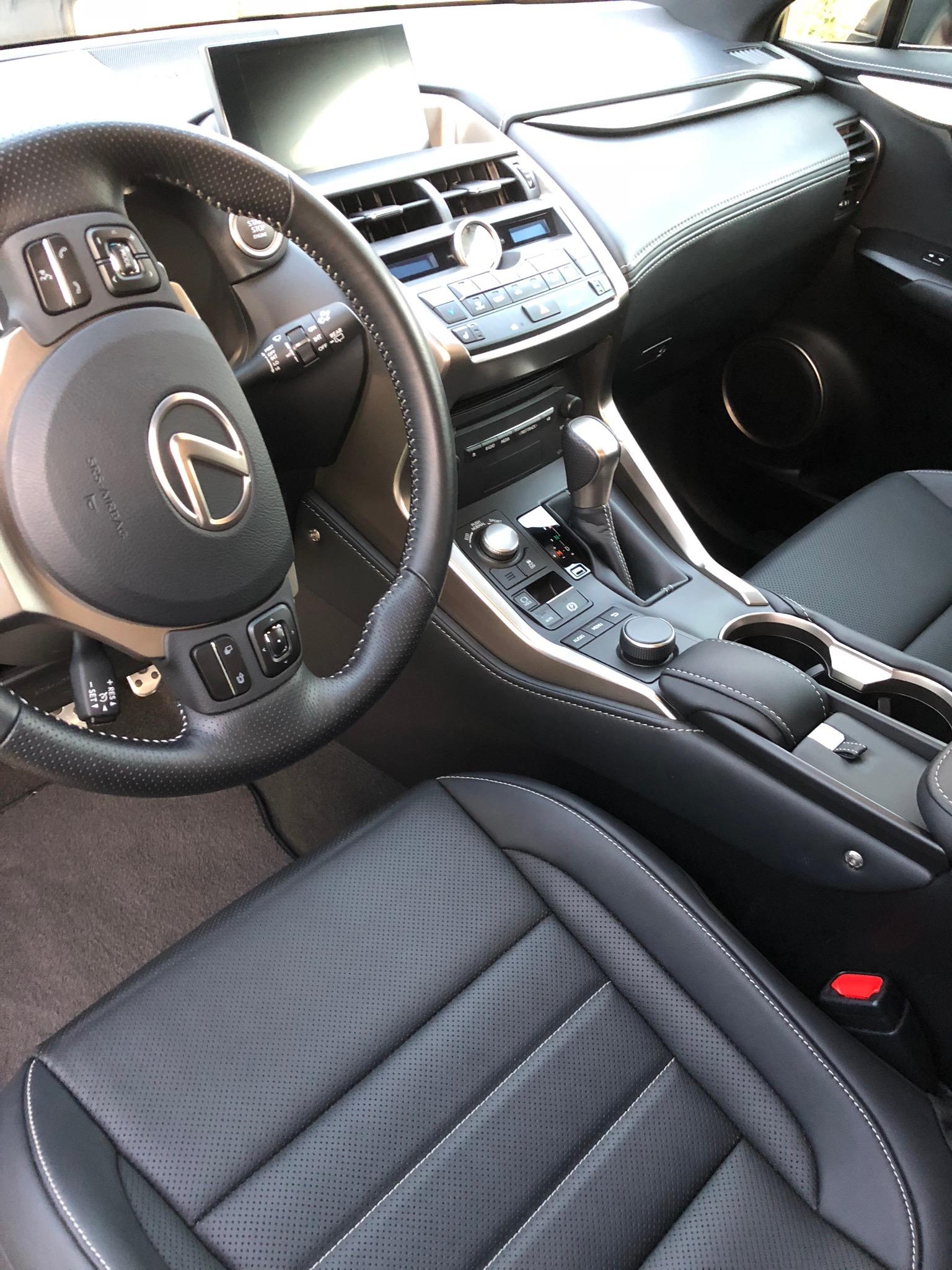 2017 Lexus NX200t F-Sport - Interior