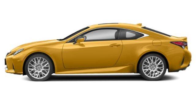 2019 Lexus RC 350 F Sport AWD - Flare Yellow