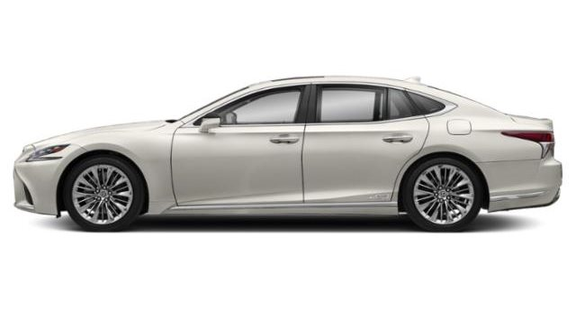 2019 Lexus LS 500h Hybrid RWD - Eminent White Pearl