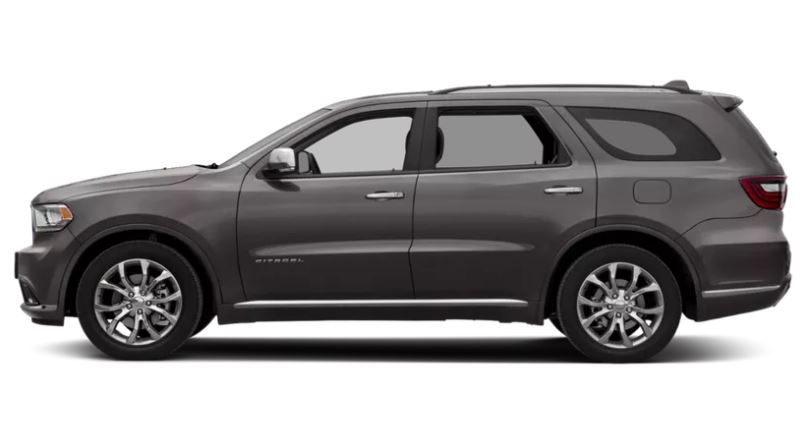 2019 Dodge Durango SXT AWD - Side View