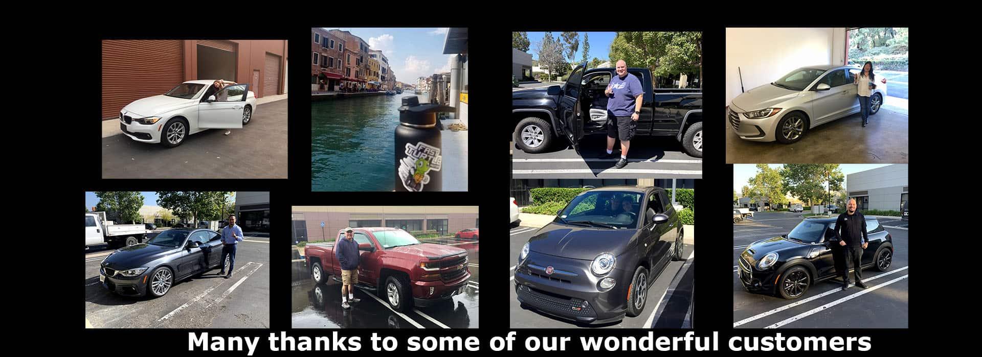 Happy Customers at Fast Turtle Motors