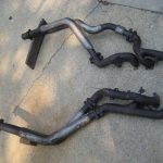 M117.968 Euro Spec / ROW spec exhaust manifold and downpipes