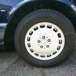 W126 560sel wheel