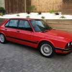 E28 M5 black or Schwartz Trim