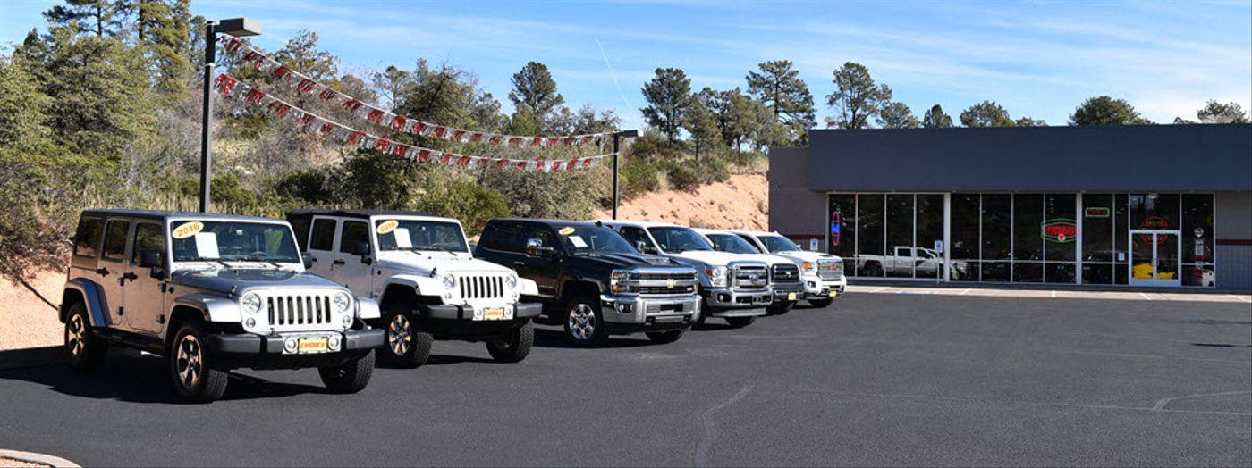 Choice Auto Showroom in Payson, AZ