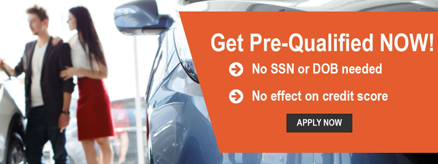 Get Pre-Qualified Now!