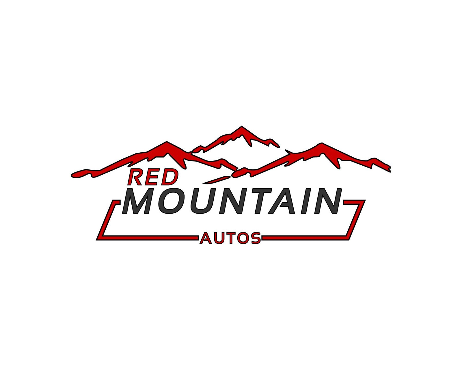 red mountain autos logo