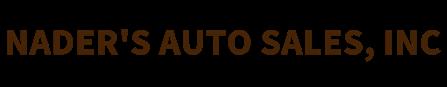 NADER'S AUTO SALES