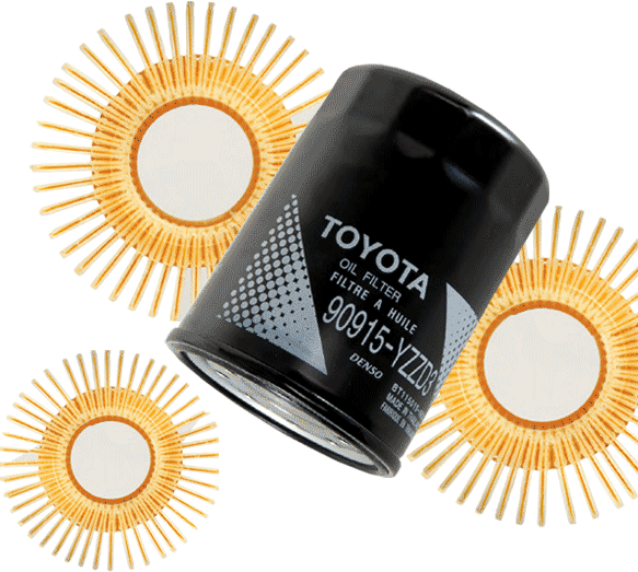 NHT toyota oil filter