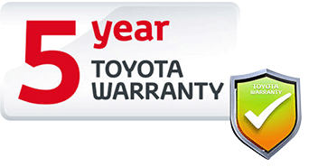 NHT 5 year toyota warranty