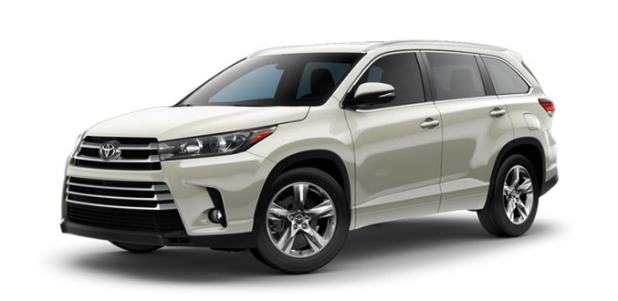NHT Toyota Highlander Los Angeles