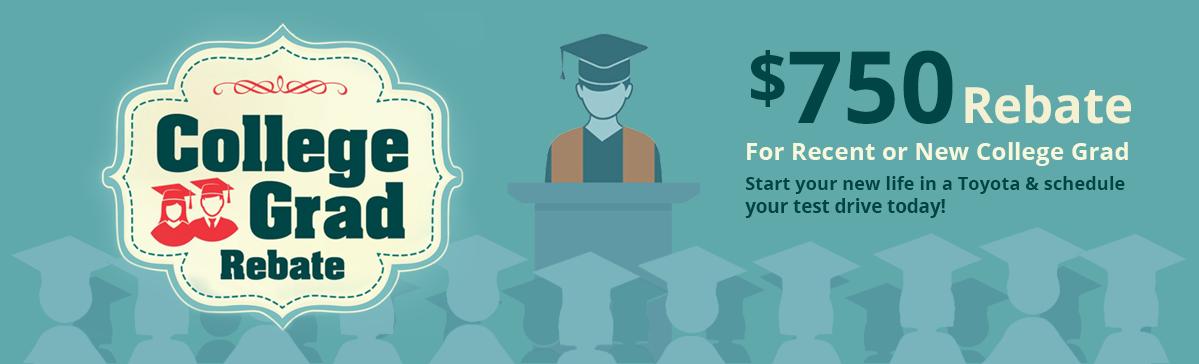 NHT $750 college graduate rebate