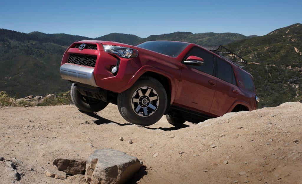 Toyota 4Runner on mountain