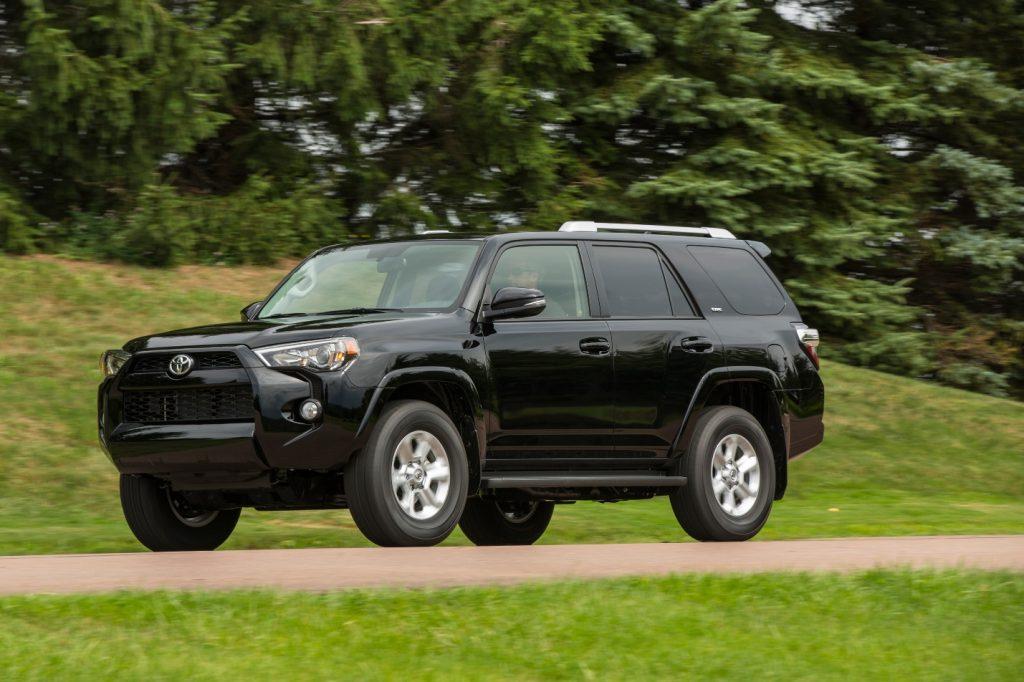 black Toyota 4Runner