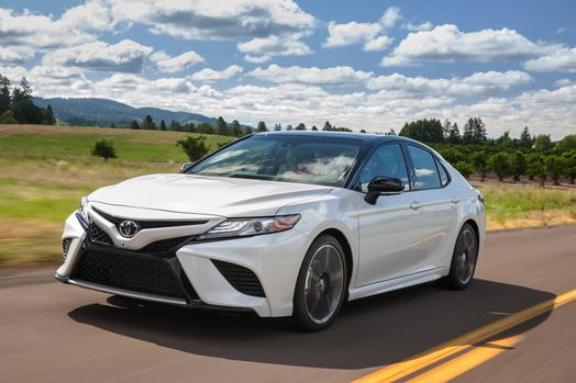 Redesigned 2018 Toyota Camry